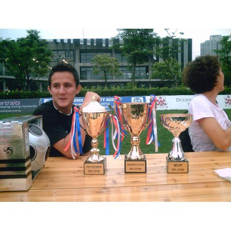 Nico Nissl - MVP and Top Scorer 2007/2008
