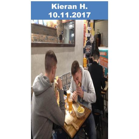 - Kieran H. - At Grill and Chill